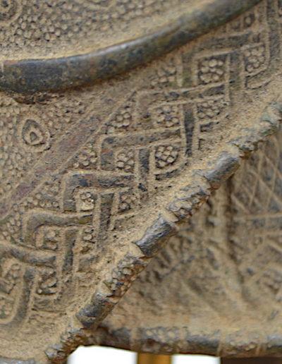 Benin Bronze Guard 1249_0012