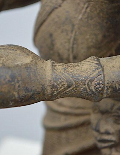 Benin Bronze Guard 1249_0015
