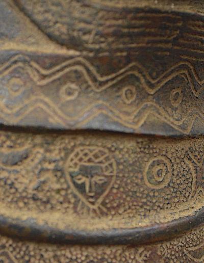 Benin Bronze Guard 1249_0026
