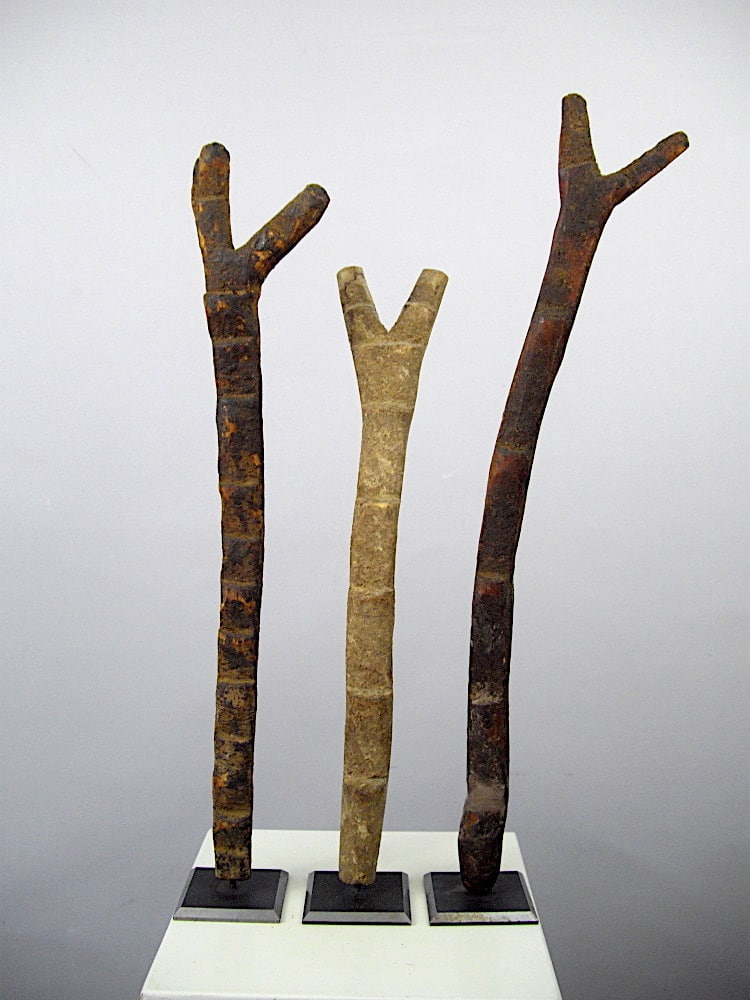 Dogon Shrine Ladders