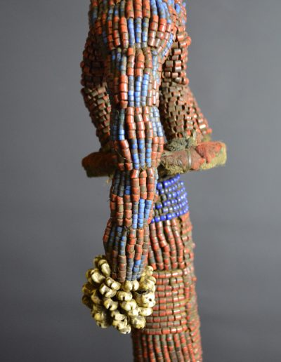 Bamileke Beaded Palm Wine Vessel knpc_0008