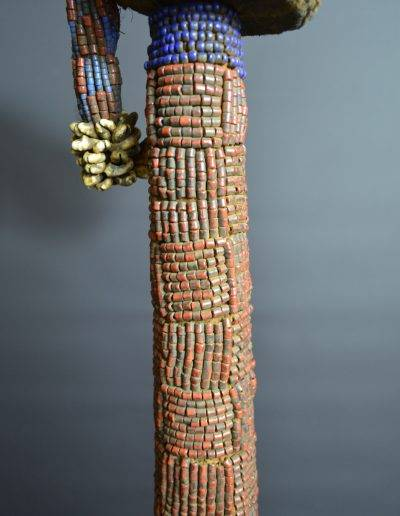 Bamileke Beaded Palm Wine Vessel knpc_0012