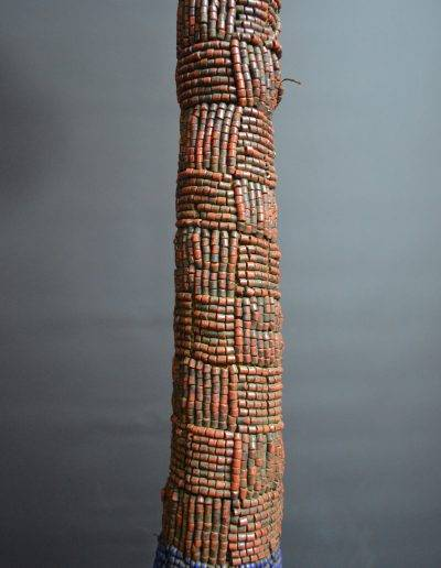 Bamileke Beaded Palm Wine Vessel knpc_0013