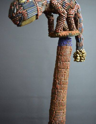 Bamileke Beaded Palm Wine Vessel knpc_0016