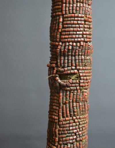 Bamileke Beaded Palm Wine Vessel knpc_0017