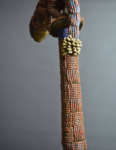 Bamileke Beaded Palm Wine Vessel knpc_0019