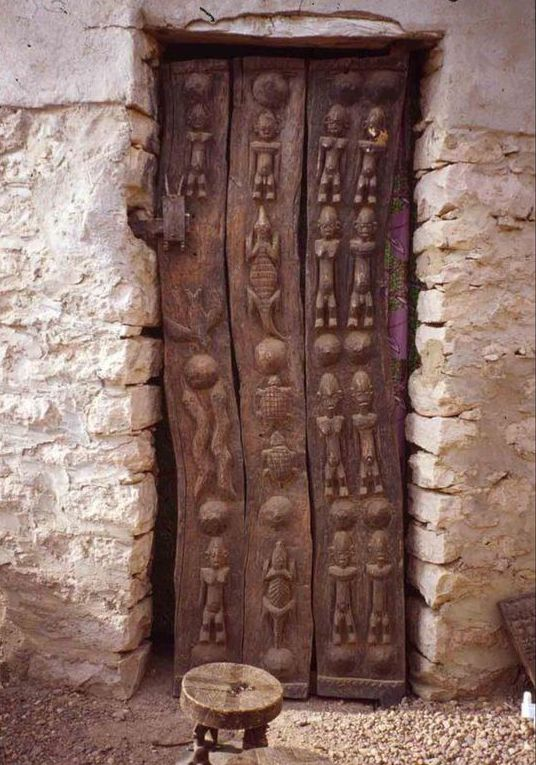 Dogon Granary Door
