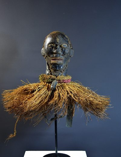 Ekoi Ejagham Skin covered headdress