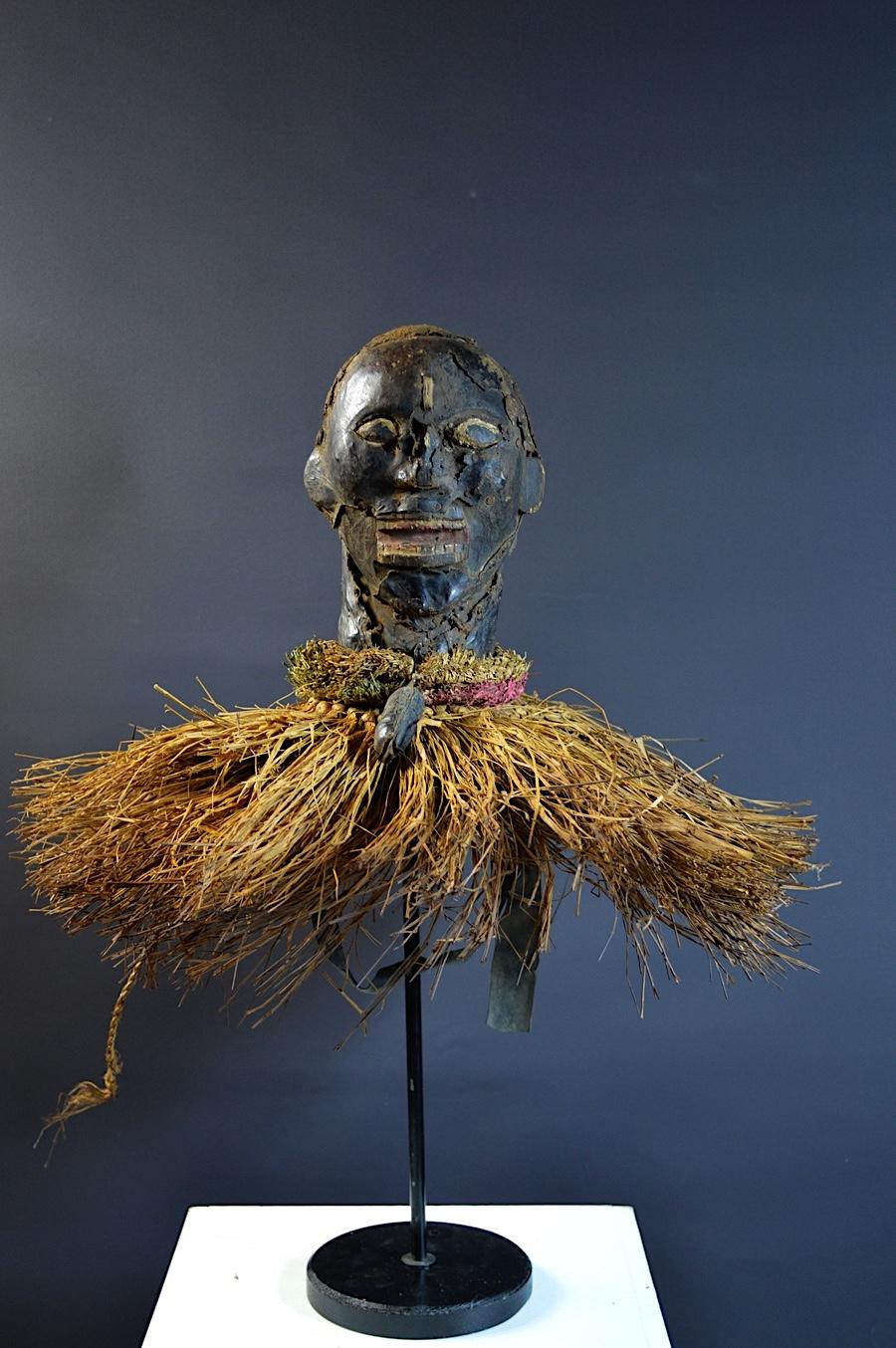 Ekoi Skin covered headdress