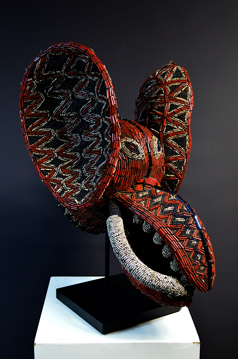 Bamileke AKA Society Elephant Mask
