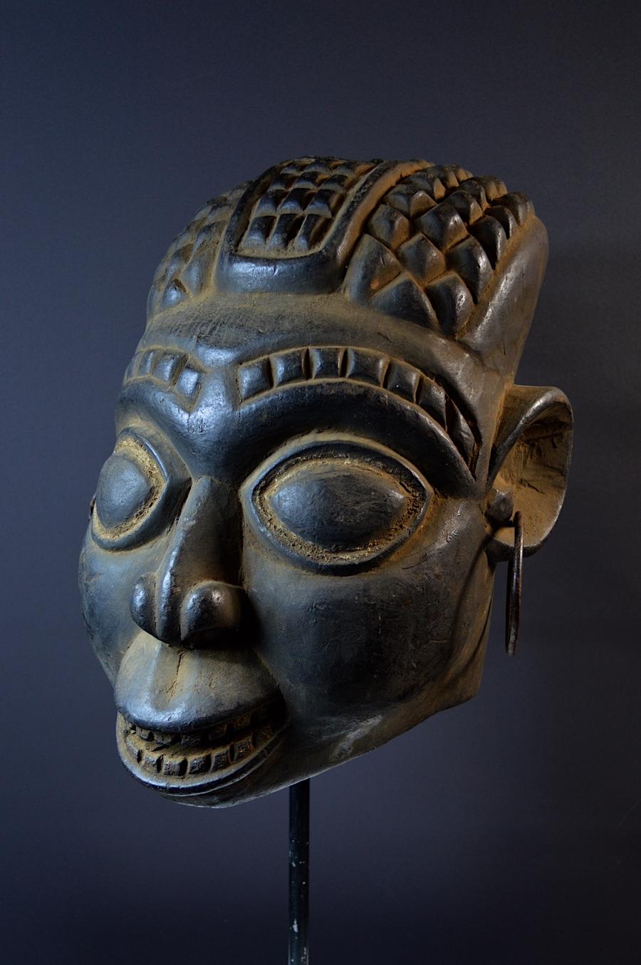 Bamileke Nafoyn society mask